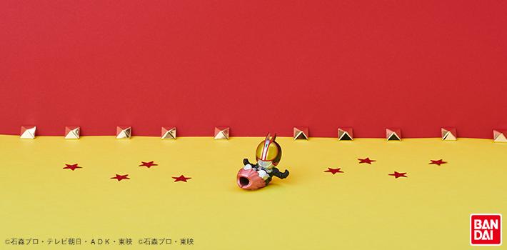 ケーブルバイト 仮面ライダー ライダーキック Ver. 仮面ライダーファイズ 使用イメージ01