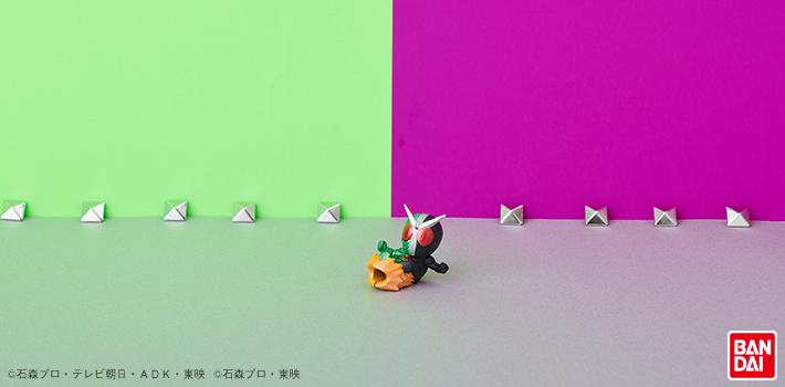 ケーブルバイト 仮面ライダー ライダーキック Ver. 仮面ライダーW 使用イメージ01
