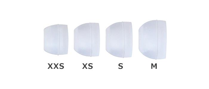 ZHP-006の4種類のイヤーパッド